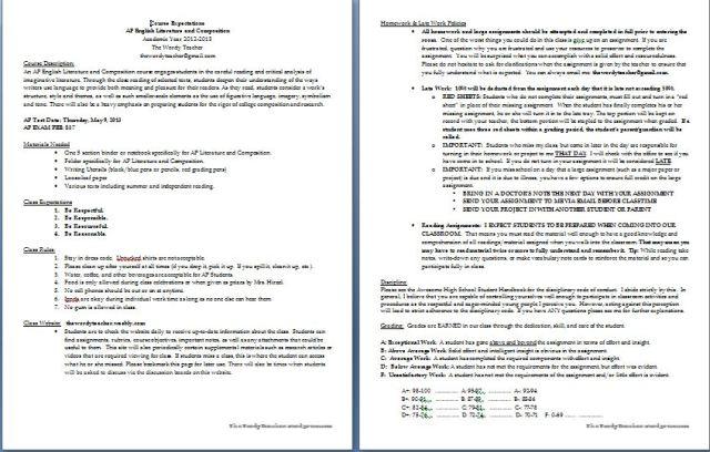 AP Syllabus Page 1